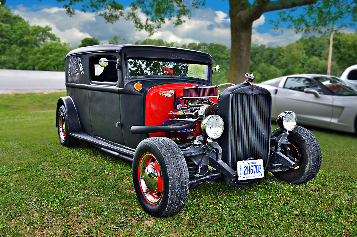 "dave connell's 31 dodge delivery ""ratz nest"" - m-design"