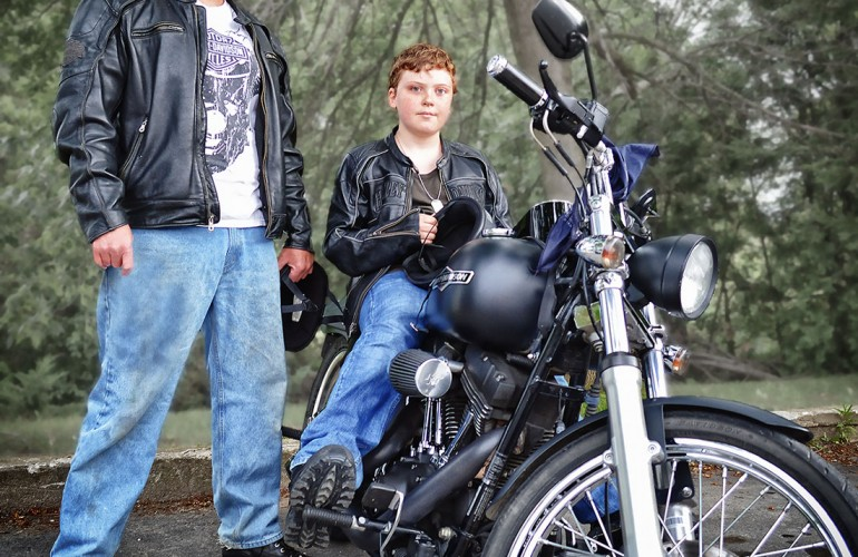 Jake and Johnathan Stewart- '09 Harley Nighttrain