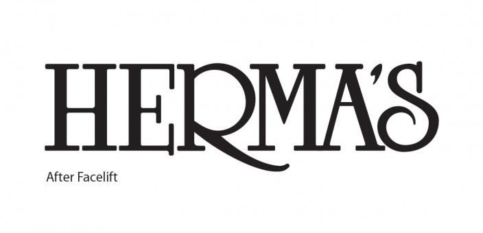 Herma's logo gets a face-lift