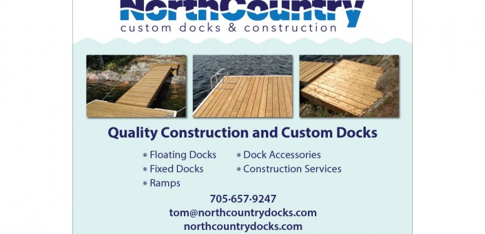 North Country Docks set for Cottage Life Show