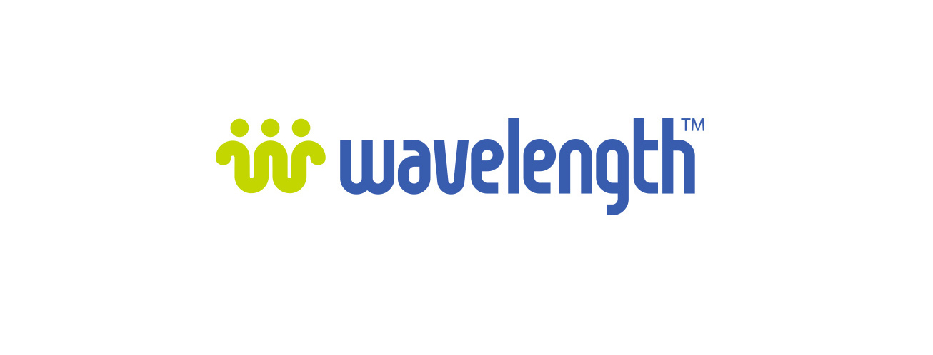 Wavelength logo design