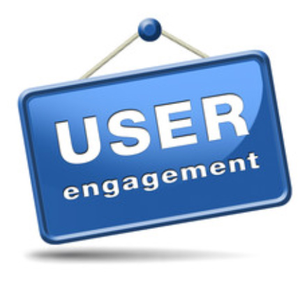 sign says user engagement